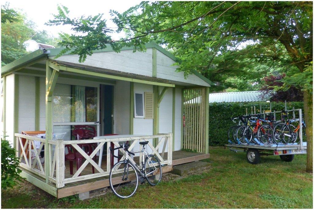 3-Ardéchoise  -juin 2017 - Un bungalow