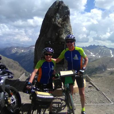 2 Cyclos Avranchinais dans les Alpes